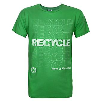 Junk Food Recycle Have A Nice Day Men's T-Shirt