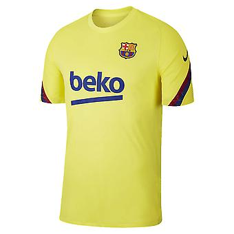 Koszulka treningowa Nike 2019-2020 Barcelona (żółta)