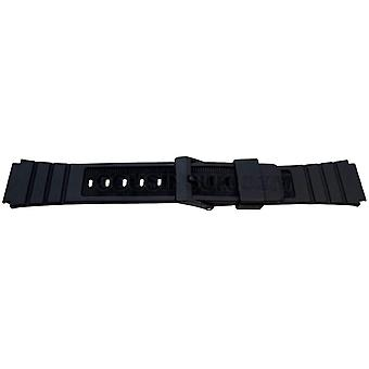 Watch strap made by w&cp to fit casio watch strap 17mm for casio a175