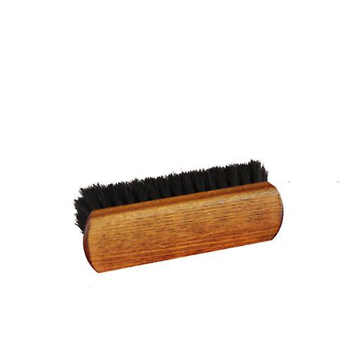 Horsehair Buffing Brushes - double pack XL Deluxe Natural and Black