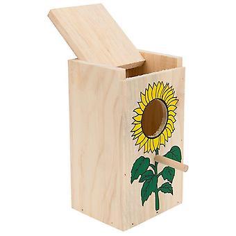 チロルの巣ボックス L 装飾 (鳥、鳥ケージ アクセサリ、巣と補完)