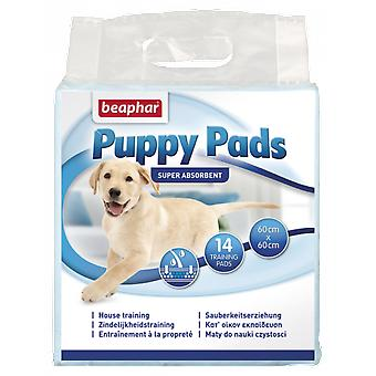 Beaphar Puppy Pads - 14 Pieces (Dogs , Grooming & Wellbeing , Bathing and Waste Disposal)