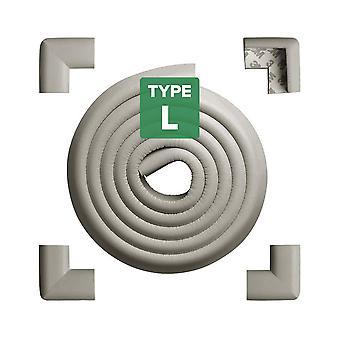 Tritina corner guards and edge bumpers , 2.2m / 7ft [ 6.5ft edge cushion + 4 corner cushion]