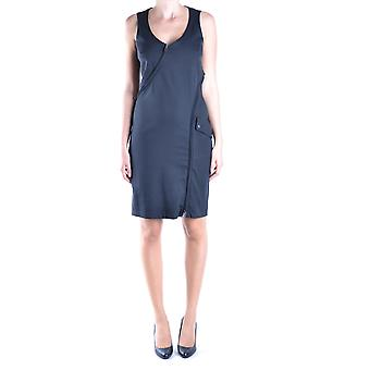Belstaff Ezbc102015 Women's Black Viscose Dress