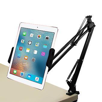 Desktop 360 degrés rotatif porte-tablette de bras paresseux support de téléphone pour 4.0-12.9 pouces tablette de téléphone intelligent pour iPhone pour samsung pour ipad pro