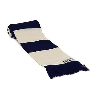 fan originals Retro Football Bar Scarf in Tottenham Colours Navy White