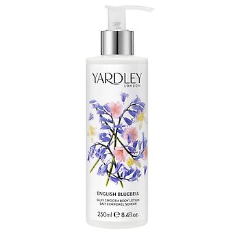 Yardley London Body Lotion - English Bluebell - elegant floral fragrance with rose water 250 ml