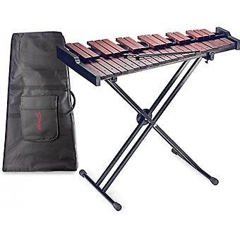 StagG 37 Bemærk - 3 oktav xylofon med stander og sag