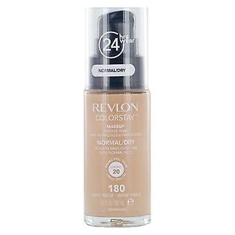 Revlon Colorstay fondazione pelle normale / secca #180-sabbia beige