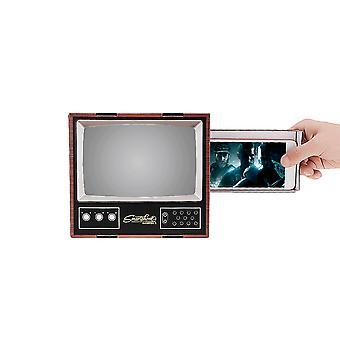 Universele diy 3d hd video telefoon scherm vergrootglas retro tv-scherm versterker telefoonhouder voor mobiele telefoon