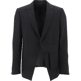1017 Alyx 9sm Aamta0016fa01blk0001 Men-apos;s Black Wool Blazer