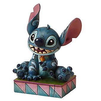 Disney Traditions Ohana Means Family Stitch Figurine