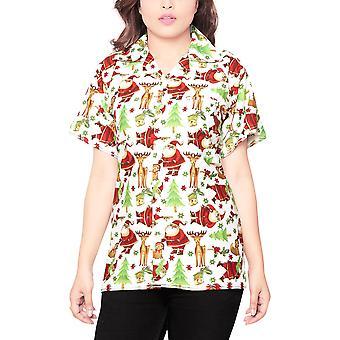 Club cubana women's regular fit classic short sleeve casual blouse shirt ccwx5