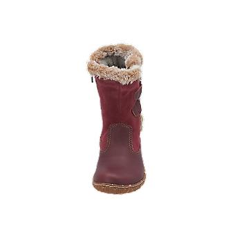 El Naturalista E755 LUX SUEDE-LÁGY GRAIN Kids Girls Boots Red