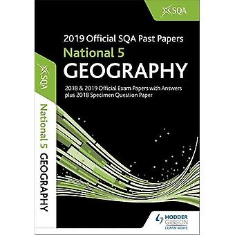 2019 Official SQA Past Papers - National 5 Geography by SQA - 97815104