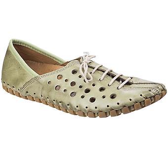 Riva Womens/Ladies Zeta Leather Bicycle Toe Shoes