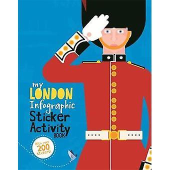 My London Infographic Sticker Activity Book by Barnham & Kay