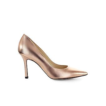 MARC ELLIS COPPER LEATHER PUMP