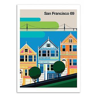 Pôster de Arte - São Francisco 69 - Bo Lundberg