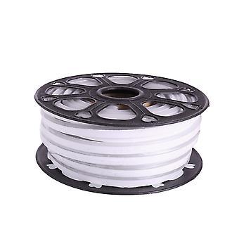 Jandei joustava NEON LED Strip 25m, väri valkoinen valo fria 12VDC 8 * 16mm, leikkaus 1cm, 12W 100 LED/m SMD2835, koriste, muodot, led juliste
