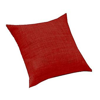 Changing Sofas Red Linen Effect Upholstery Fabric Extra Large 24