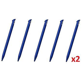 10x 2DS XL Blue Stylus Rigid Plastic Touch Pen for Nintendo