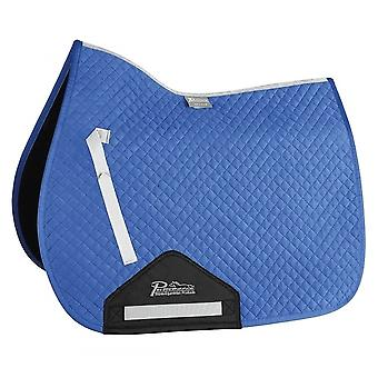 Shires Performance Full Size Suede Saddlecloth - Royal Blue