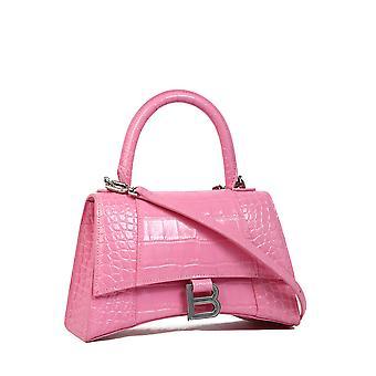 Balenciaga 5935461lr6y5842 Women's Pink Leather Handbag