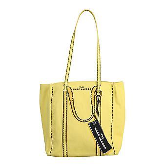 Marc Jacobs M0015787750 Women's Yellow Cotton Tote