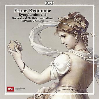 429597 / Orchestra Della Svizzera Italiana - Symphonies Nos 1-3 [CD] USA import