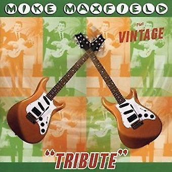 Mike Maxfield - Tribute + Vintage [CD] USA import