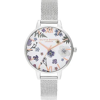 Olivia Burton Montres Ob16ar09 Artisan Rose Or et Silver Mesh Ladies Watch