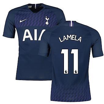 2019-2020 Tottenham Vapor Match Away Nike Shirt (LAMELA 11)