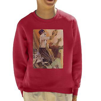 The Saturday Evening Post Football Catch Kid's Sweatshirt