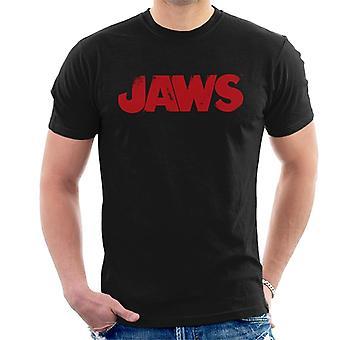 Jaws Logo Men's T-Shirt