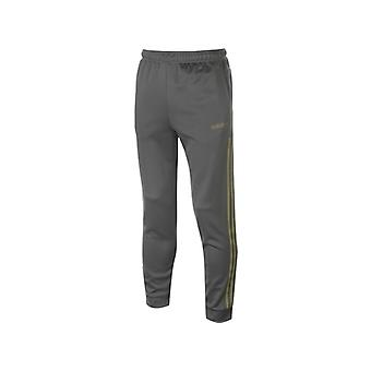 adidas 3 Stripe Matte Tracksuit Bottoms Mens