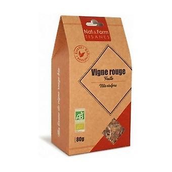 Herbal Tea Red Vine Organic Leaf 80 g