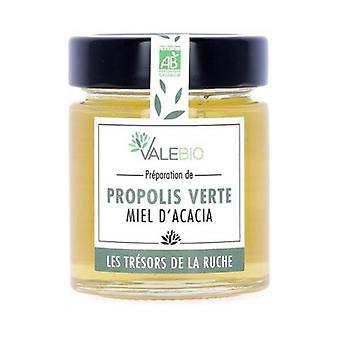 Organic Green Honey & Propolis 170 g