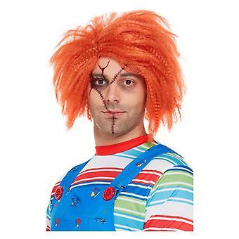 Felnőttek Chucky Paróka Halloween Fancy Dress Accessory