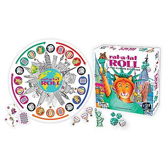 Games Ceaco Gamewright Rat-A-Tat Roll A Fun Numbers Dice Game 425