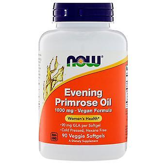 Nu Foods, Evening Primrose Oil, 1.000 mg, 90 Veggie Softgels