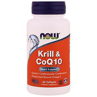 Ora Alimenti, Krill & CoQ10, 60 Softgels