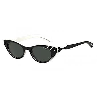 Sonnenbrille Damen  6084/S9HT/M9   schwarz mit grauen Gläsern