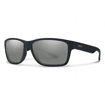 Aurinkolasit Unisex Wolcott polarisoimatta musta/harmaa