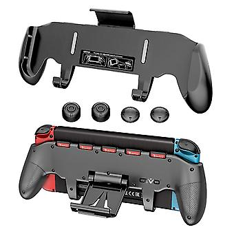 Adjustable Stand Handle Holder With 5 Card Storage For Nintend Switch Kit With Key Cap