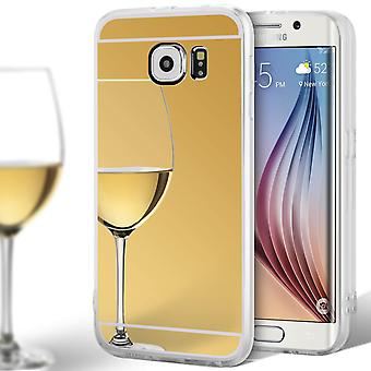 Specchio TPU Shell per Samsung Galaxy S6 Silicone Mobile Protection Shockproof sottile