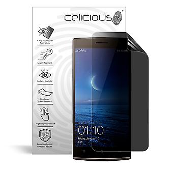 Celicious Privacy Plus 4-Way Anti-Spy Filter Screen Protector Film Compatible with Oppo Find 7a