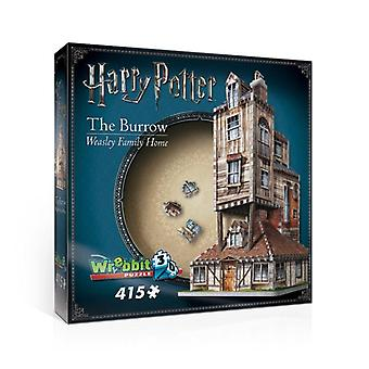 3D puzzle - harry potter (tm): the burrow - weasley family home -  415 pieces