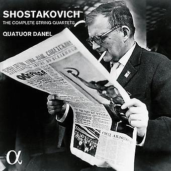 Quatuor Danel - Chostakovitch: Quatuors à cordes complet [CD] USA import