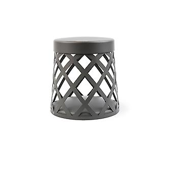 LED Outdoor Pedestal Light Dark Grey IP65